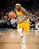 Mar 23, 2014, Washington Wizards vs Denver Nuggets - Ty Lawson Photographic Print by Garrett Ellwood