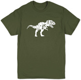 T-Rex (for adult) T-shirts