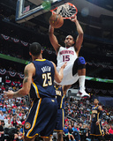 Apr 27, 2013, Indiana Pacers vs Atlanta Hawks (Game Three) - Al Horford, Gerald Green Photographic Print by Scott Cunningham