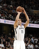 Oct 30, 2013, Brooklyn Nets vs Cleveland Cavaliers - Brook Lopez Photographic Print by David Liam Kyle