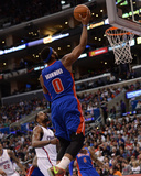 Mar 22, 2014, Detroit Pistons vs Los Angeles Clippers - Andre Drummond Photographic Print by Noah Graham