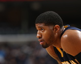Mar 17, 2014, Indiana Pacers vs Memphis Grizzlies - Paul George Photo by Joe Murphy