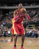 Nov 20, 2013, Houston Rockets vs Dallas Mavericks - Dwight Howard Photographic Print by Danny Bollinger
