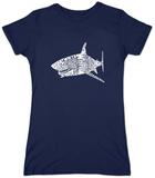 Juniors: Shark Names T-shirt