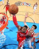 Mar 11, 2014, Houston Rockets vs Oklahoma City Thunder - Dwight Howard Photographic Print by Layne Murdoch