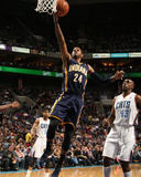 Mar 5, 2014, Indiana Pacers vs Charlotte Bobcats - Paul George Photographic Print by Brock Williams-Smith