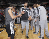 Mar 21, 2014, San Antonio Spurs vs Sacramento Kings - Tim Duncan Photographic Print by Rocky Widner