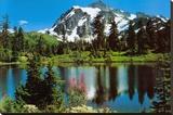 Mount Shuksan Trykk på strukket lerret