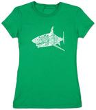 Juniors: Shark Names T-Shirts