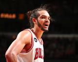 Mar 9, 2014, Miami Heat vs Chicago Bulls - Joakim Noah Photographic Print by Nathaniel S. Butler