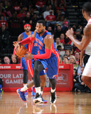 Mar 1, 2014, Detroit Pistons vs Houston Rockets - Andre Drummond Photographic Print by Bill Baptist