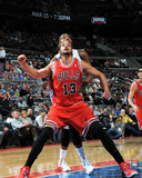 Mar 5, 2014, Chicago Bulls vs Detroit Pistons - Joakim Noah Photographic Print by Allen Einstein