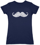 Juniors: Moustache Shirt