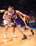 Mar 13, 2014, Los Angeles Lakers vs Oklahoma City Thunder - Pau Gasol Photographic Print by Layne Murdoch