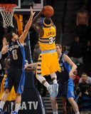 Mar 5, 2014, Dallas Mavericks vs Denver Nuggets - Ty Lawson Photographic Print by Bart Young