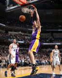 Feb 26, 2014, Los Angeles Lakers vs Memphis Grizzlies - Pau Gasol Photographic Print by Joe Murphy