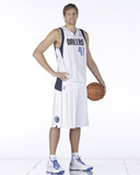 Dallas Mavericks Media Day 2013-2014 - Dirk Nowitzki Photographic Print by Glenn James