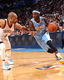 Mar 24, 2014, Denver Nuggers vs Oklahoma City Thunder - Ty Lawson Photographic Print by Layne Murdoch