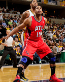 May 1, 2013, Atlanta Hawks vs Indiana Pacers (Game Five) - Al Horford Photographic Print by Ron Hoskins