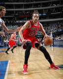 Feb 28, 2014, Chicago Bulls vs Dallas Mavericks - Joakim Noah Photo by Glenn James