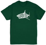 Shark Names T-Shirt