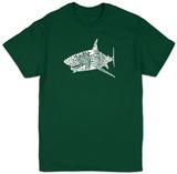 Shark Names T-Shirt