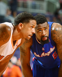 Mar 4, 2014, Los Angeles Clippers vs Phoenix Suns - Channing Frye, DeAndre Jordan Photographic Print by Barry Gossage