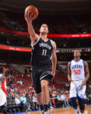 Oct 14, 2013, New Jersey Nets  vs Philadelphia 76ers - Brook Lopez Photographic Print by Jesse D. Garrabrant