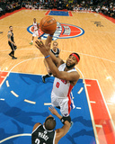 Feb 7, 2014, Brooklyn Nets vs Detroit Pistons - Andre Drummond Photographic Print by Dan Lippitt