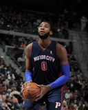 Dec 8, 2013, Miami Heat vs Detroit Pistons - Andre Drummond Photographic Print by Allen Einstein