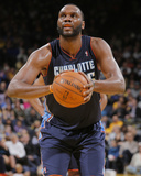 Feb 4, 2014, Charlotte Bobcats vs Golden State Warriors - Al Jefferson Photographic Print by Rocky Widner