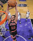 Feb 3, 2014, Chicago Bulls vs Sacramento Kings - Joakim Noah Photographic Print by Rocky Widner