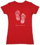 Juniors: Flip Flops T-Shirt