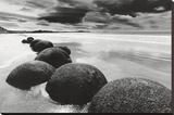 Felsen am Strand Leinwand