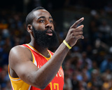 Apr 6, 2013, Houston Rockets vs Denver Nuggets - James Harden Photo by Garrett Ellwood