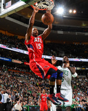 Mar 8, 2013, Atlanta Hawks vs Boston Celtics - Al Horford Photographic Print by Brian Babineau
