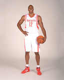 Houston Rockets Media Day 2013 - Dwight Howard Photographic Print by Bill Baptist