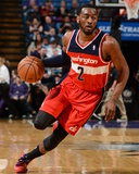 Mar 18, 2014, Washington Wizards vs Sacramento Kings - John Wall Photographic Print by Garrett Ellwood