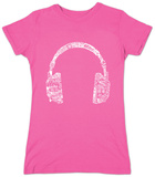 Juniors: Headphones-Languages Shirt