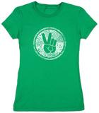 Juniors: Make Love Not War T-Shirts