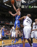 Feb 19, 2014, Golden State Warriors vs Sacramento Kings - David Lee Photo by Rocky Widner