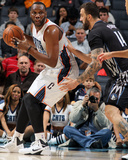 Mar 14, 2014, Minnesota Timberwolves vs Charlotte Bobcats - Al Jefferson Photographic Print by Brock Williams-Smith