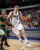 Mar 17, 2014, Boston Celtics vs Dallas Mavericks - Dirk Nowitzki Photo by Glenn James