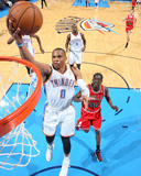 Dec 19, 2013, Chicago Bulls vs Oklahoma City Thunder - Russell Westbrook Photographic Print by Layne Murdoch