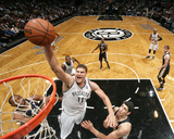 Nov 5, 2013, Utah Jazz vs Brooklyn Nets - Brook Lopez Photographic Print by Nathaniel S. Butler