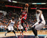 Mar 31, 2014, Washington Wizards vs Charlotte Bobcats - John Wall Photographic Print by Brock Williams-Smith