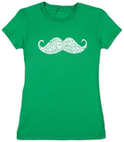 Juniors: Moustache T-shirts