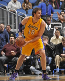 Jan 24, 2014, Los Angeles Lakers vs Orlando Magic - Pau Gasol Photo by Fernando Medina