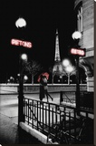Paris Stretched Canvas Print