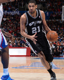 Feb 18, 2014, San Antonio Spurs vs Los Angeles Clippers - Tim Duncan Photo by Andrew Bernstein